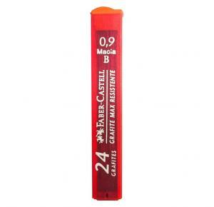 Grafite 0.9mm B com 24 minas Faber Castell