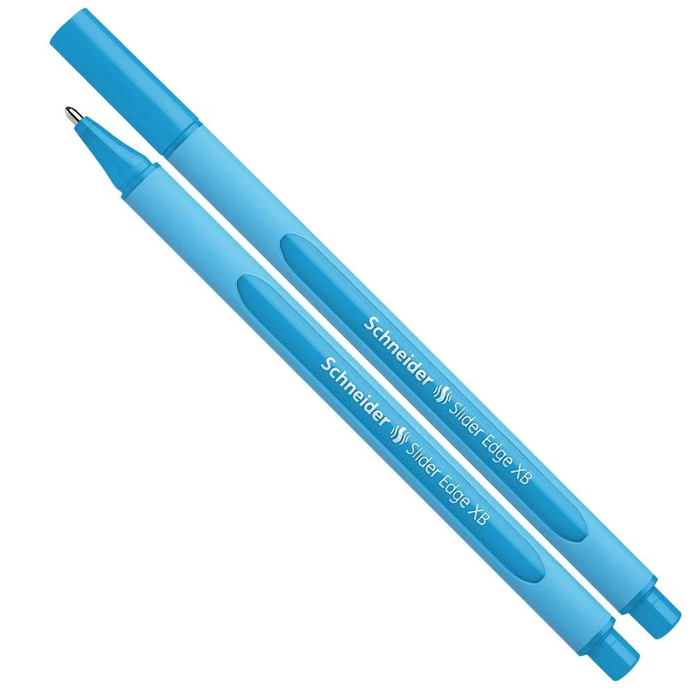 Caneta Esferográfica Xb Slider Edge Azul Schneider