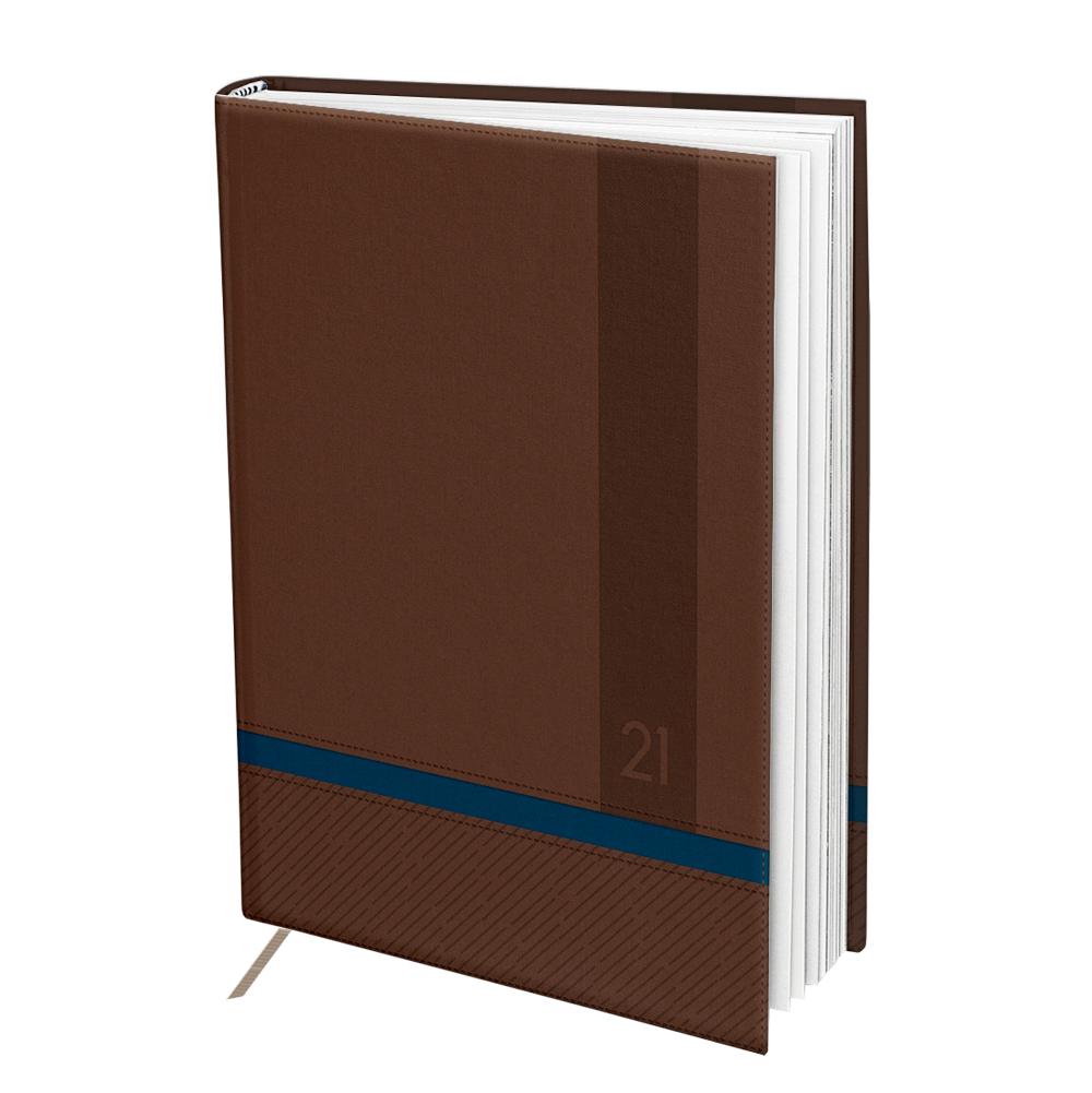 Agenda Executiva Marrom Azul 2021 DAC