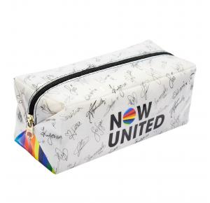 Estojo Escolar Grande Now United em PVC DAC