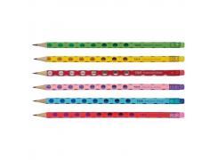 Lápis de Escrever HB com Borracha Glitter Tris