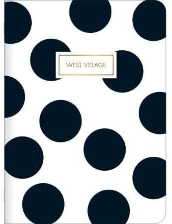 Caderneta Grampeado Flexível West Village 32 Folhas Tilibra