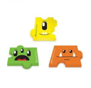 Borracha Monster Puzzle Faber Castell