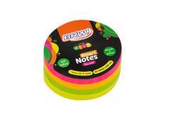 Bloco de Anotações Smart Notes Neon 70x70 com 200 Folhas BRW