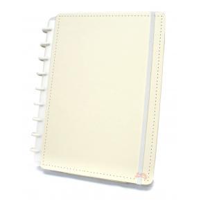 Caderno Inteligente Médio Amarelo Pastel