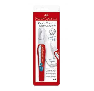 Caneta Corretiva com Ponta de Metal 8ml Faber Castell