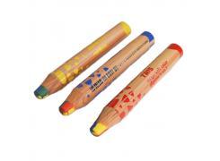 Lápis de Cor Mega Soft Gigante 4 em 1 Rainbow Tris