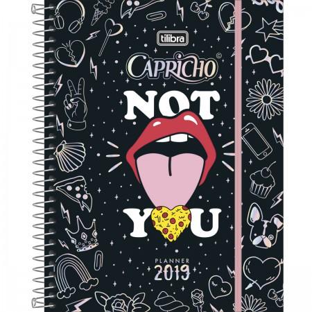 AGENDA ESPIRAL PLANNER CAPRICHO 2019 M 7 TILIBRA