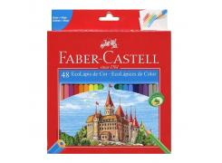 Lápis de Cor Ecolápis 48 Cores Faber Castell