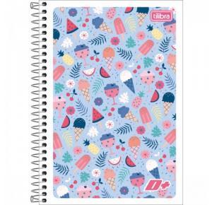 Caderno Espiral Capa Flexível 1/4 D+ 96 Folhas Tilibra