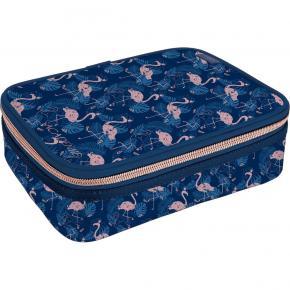 Estojo Box Académie Flamingo Tilibra