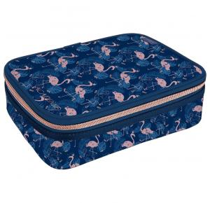 Estojo Box Académie Flamingo Tilibra