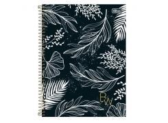 Caderno Universitário B&W 80 Folhas Tilibra