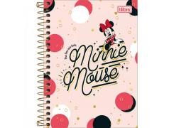 Caderneta Espiral 1/8 Minnie Mouse 80 Folhas Tilibra