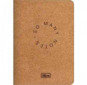 Caderneta 1/4 Grampeada Flexível 80 Folhas Tilibra