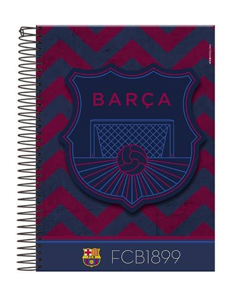 Caderno Universitário Barcelona 96 Folhas Foroni