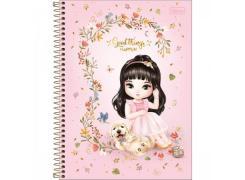Caderno Universitário Jolie 80 Folhas Tilibra