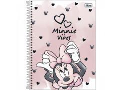Caderno Universitário Minnie Mouse 80 Folhas Tilibra