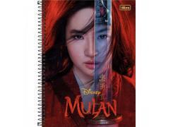 Caderno Universitário Mulan com 80 Folhas Tilibra