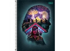 Caderno Universitário Stranger Things 80 Folhas Tilibra