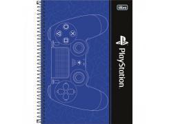 Caderno Universitário Playstation com 160 Folhas Tilibra