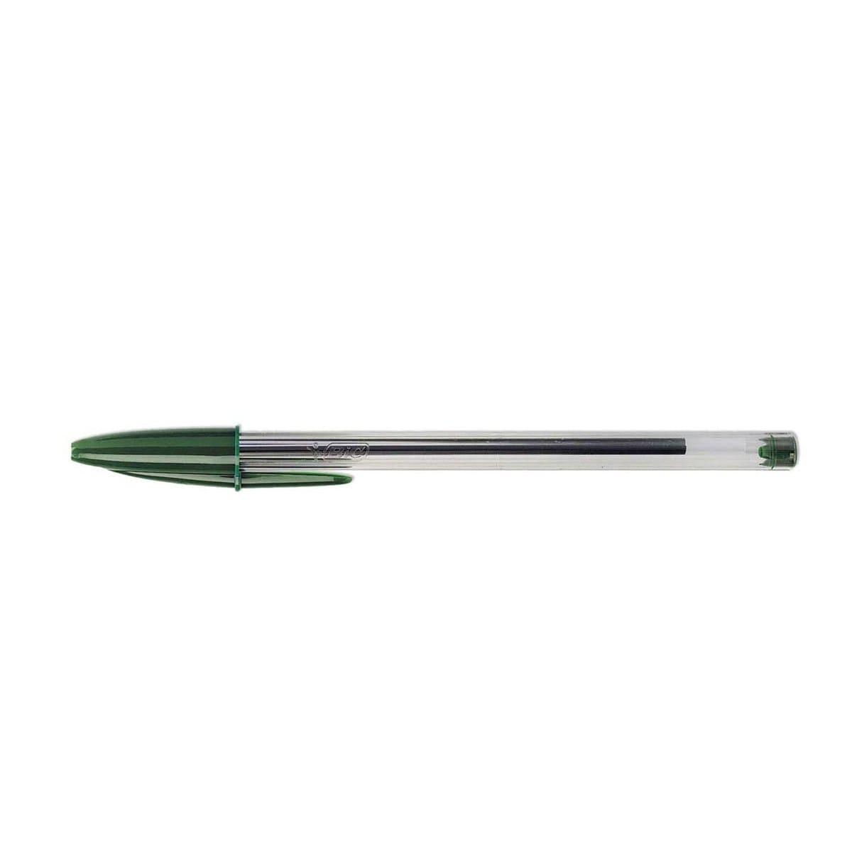Caneta Esferográfica 1.0 Cristal Verde Bic