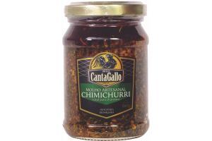 CHIMICHURRI  - MOLHO ARTESANAIS  - CANTAGALLO (160G)