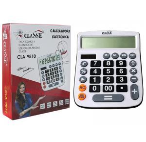 Calculadora Eletrônica Grande 12 Dígitos CLA-9810 Classe