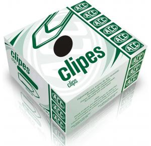 Clips Galvanizado 1/0 com 100 unidades ACC