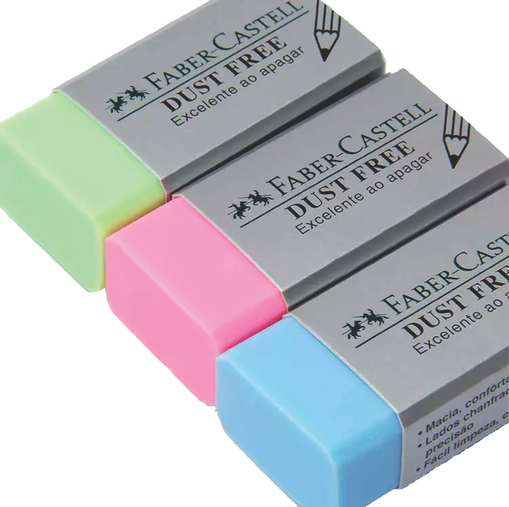 Borracha Dust Free Colors Faber Castell