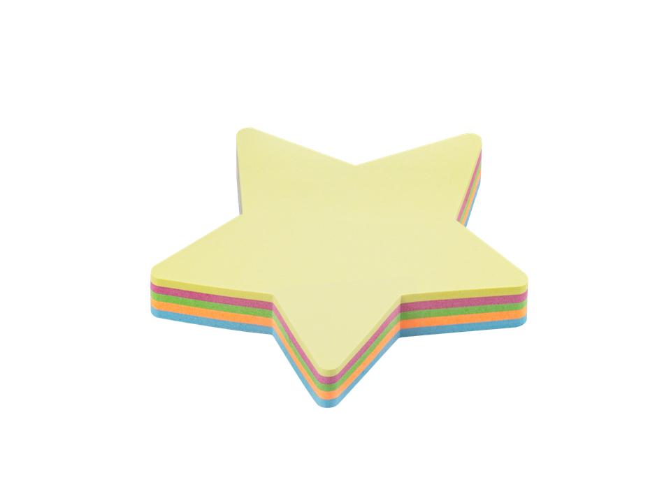 Bloco de Anotações Estrela 70×70 com 100 Folhas BRW