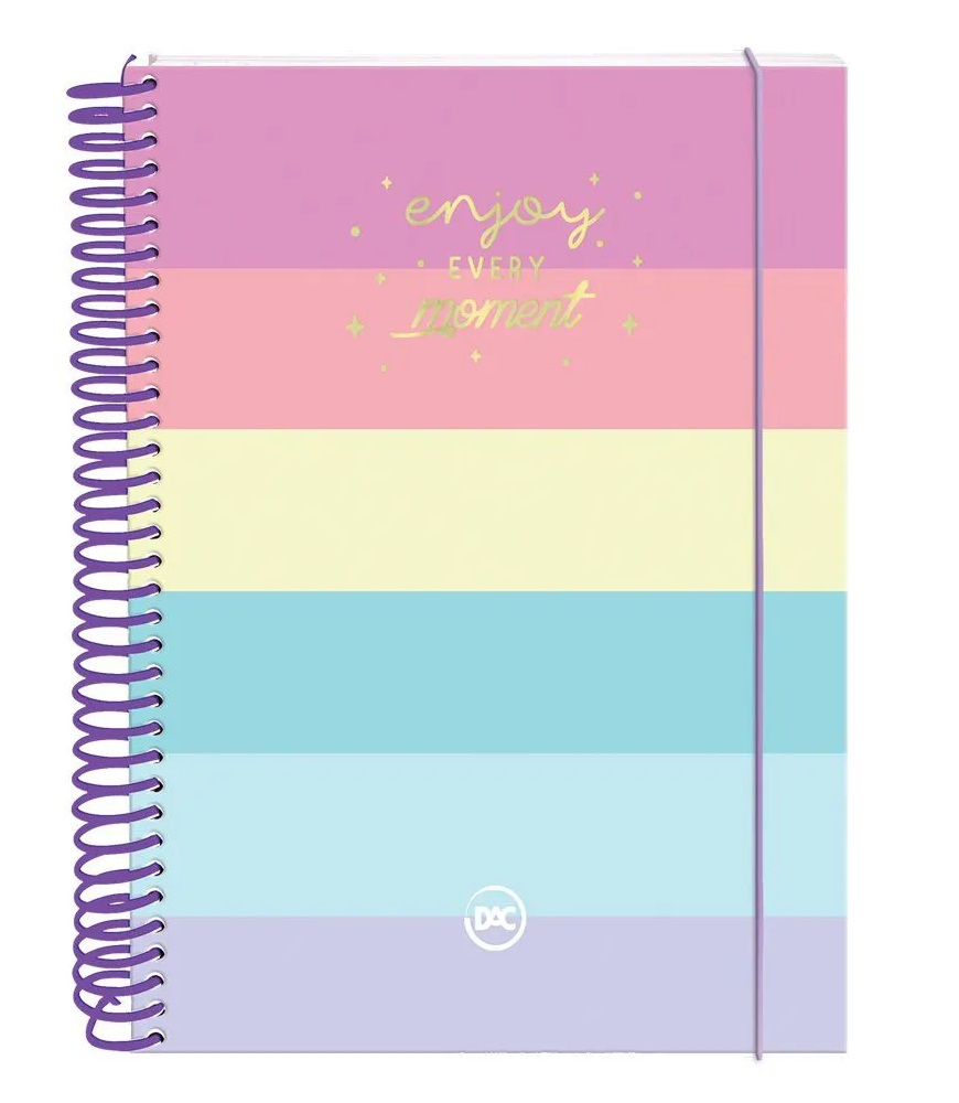 Caderno Colegial Enjoy 160 Folhas Dac