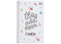 Caderno Colegial Capricho 80 Folhas Tilibra