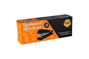 Grampeador Alicate Metal 25 Folhas Jocar