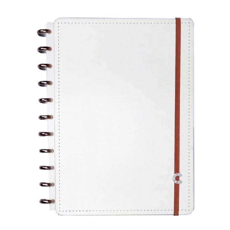 Caderno Inteligente Grande All White