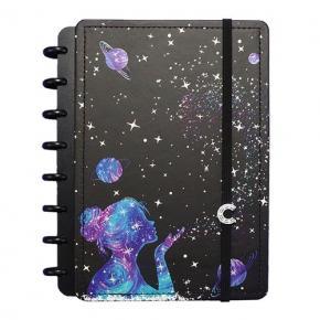 Caderno Inteligente Grande by Gocase - Poeira das Estrelas
