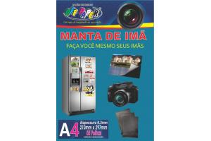 Manta de Imã 0,3 mm A4 c/ 5 und