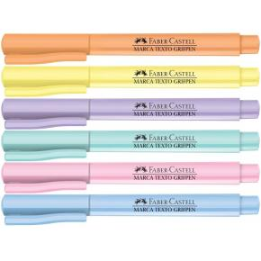 Marca Texto Grifpen Tons Pastel Faber Castell