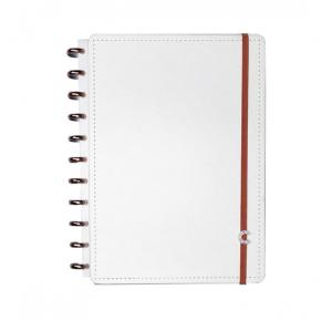 Caderno Inteligente Médio All White