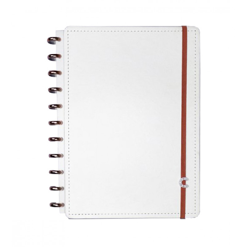 Caderno Inteligente Médio All White