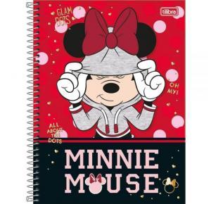 Caderno Universitário Minnie Mouse 96 Folhas Tilibra