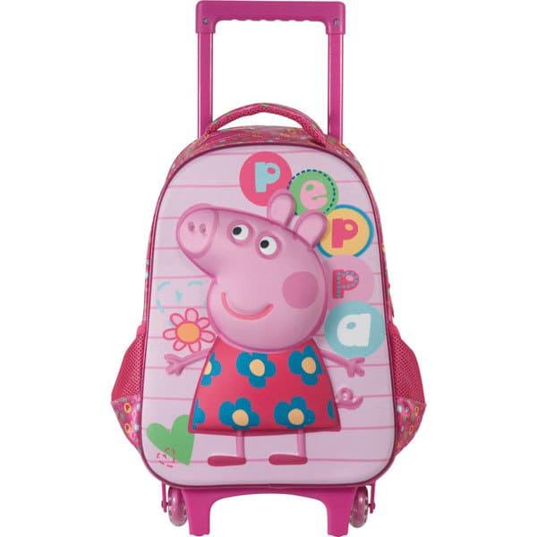 Mochila Carrinho Peppa Pig 5240 Xeryus