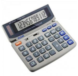 Calculadora Eletrônica 12 Dígitos MV 4121 Elgin