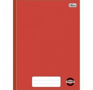 Caderno Brochura Capa Dura 1/4 Pepper Vermelho 80 Folhas Tilibra
