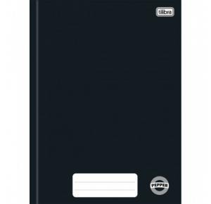 Caderno Brochura Capa Dura Universitário Pepper 80 Folhas Tilibra