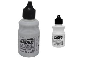 Tinta p/ Pincel Marcador Permanente Preto Radex