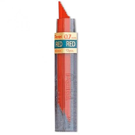 Grafite Colorido - RED - Pentel 0.7mm
