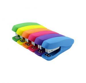 Grampeador 11Cm até 18 Folhas com cores Neon GP 1806 BRW