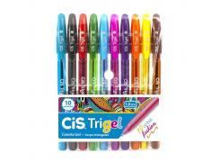 Kit Caneta Trigel 1.0 mm C/10 Cores Cis