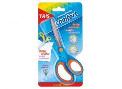 Tesoura Escolar 15cm sem ponta Comfort Tris